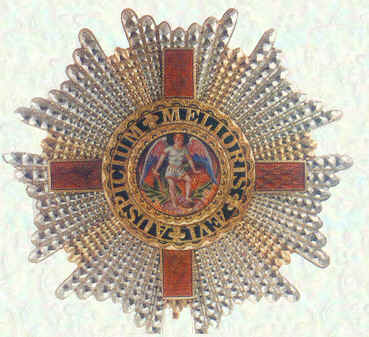 Star of Knights Grand Cross of the Most Distinguished Order of St Michael and St George