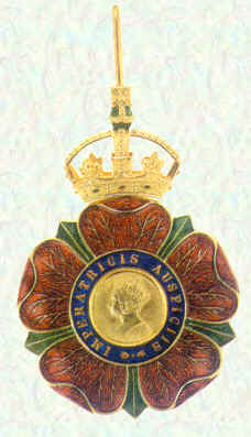 Badge of Knights Commander of the Most Eminent Order of the  Indian Empire