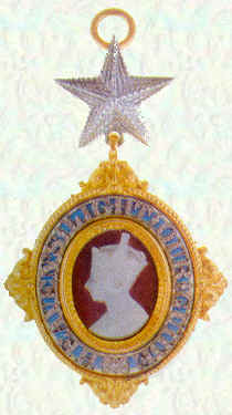Badge of Knights Commander of the Most Exalted Order of the Star of India