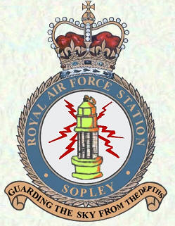 RAF Sopley badge