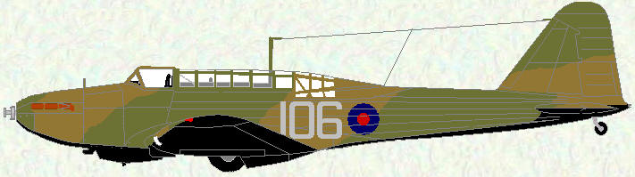 Battle I of No 106 Squadron