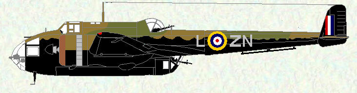 Hampden I of No 106 Squadron (Winter 1940/41)