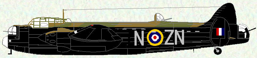 Manchester I of No 106 Squadron
