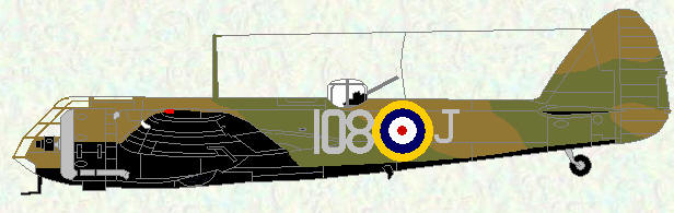Bristol Blenheim of No 108 Squadron