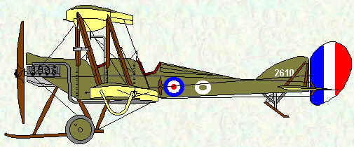 BE2c of No 10 Squadron