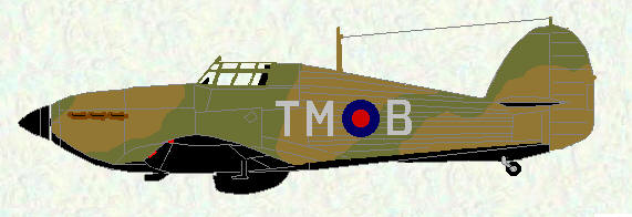 Hurricane I of No 111 Squadron