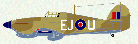 Hurricane IIC of No 127 Squadron