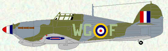 Hurricane IIb of No 128 Squadron (late 1942)