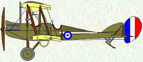 BE2d of No 12 Squadron