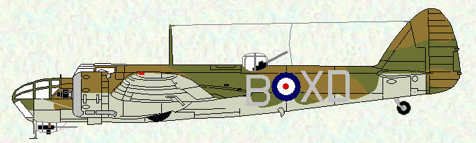 Bristol blenheim IV of No 139 Squadron