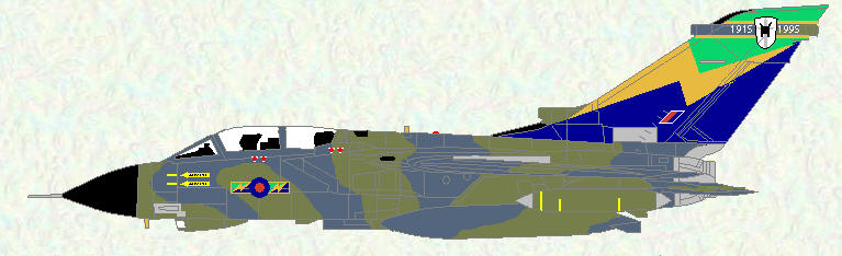 Tornado GR Mk 1A of No 13 Squadron (Commemorative markings)