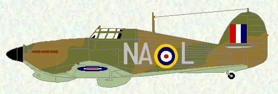 Hurricane IIB of No 146 Squadron