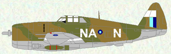Thunderbolt I of No 146 Squadron