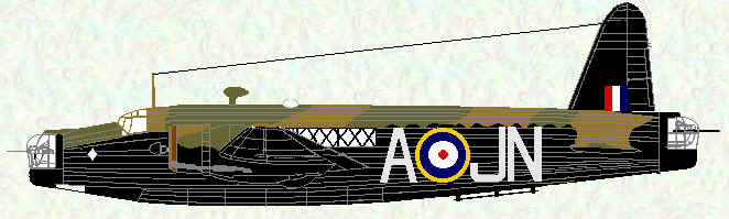 Wellington IC of No 150 Squadron