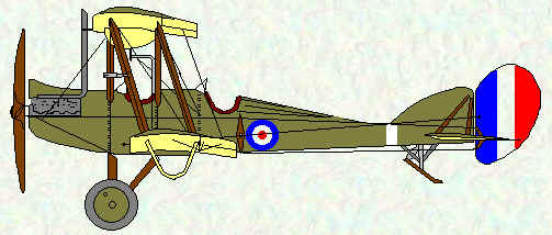 BE2d of No 15 Squadron