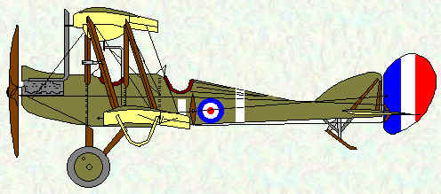 BE2d of No 16 Squadron