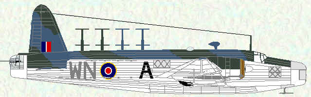 Wellington VIII of No 172 Squadron