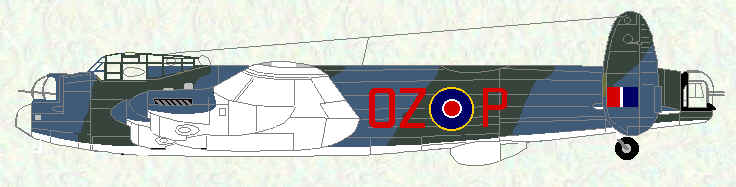 Lancaster ASR III of No 179 Squadron