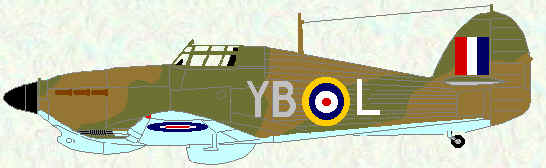 Hurricane IIC of No 17 Squadron (late 1942)