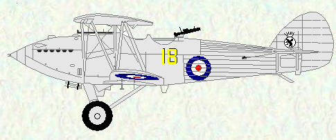 Hawker Hart of No 18 Squadron