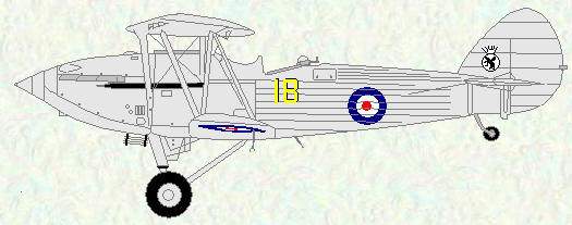 Hawker Hind of No 18 Squadron