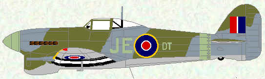 Typhoon IB ofNo 195 Squadron (CO's aircraft - late 1943)