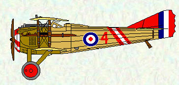 Spad VII of No 19 Squadron