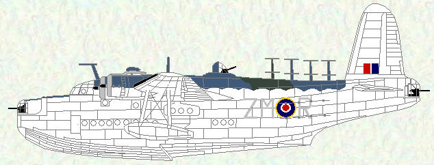 Sunderland II of No 201 Squadron (September 1942)