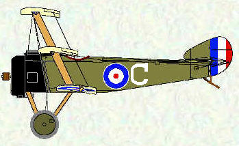 Sopwith Triplane of No 10 Squadron RNAS