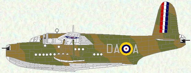 Sunderland I of No 210 Squadron (Temperate Land scheme)