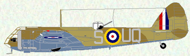 Bristol Blenheim I of No 211Squadron