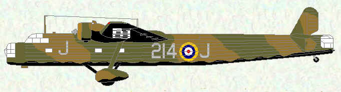 Harrow II of No 214 Squadron