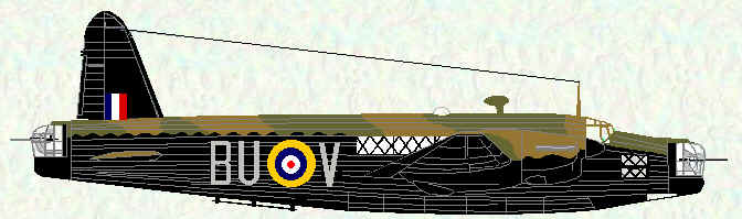 Wellington II of No 214 Squadron