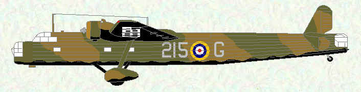 Harrow of No 215 Squadron (Pre-Munich)