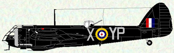 Blenhim IF of No 23 Squadron