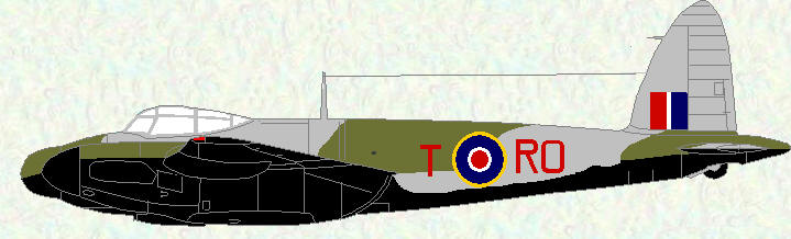 Mosquito XIII of No 29 Squadron