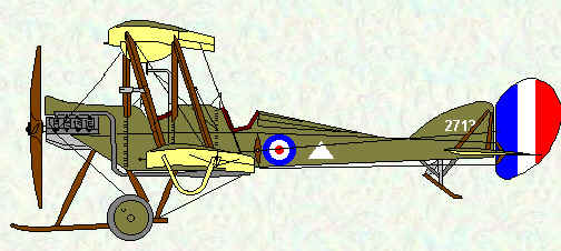 BE2c of No 2 SQuadron