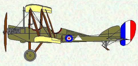 BE2e of No 2 Squadron