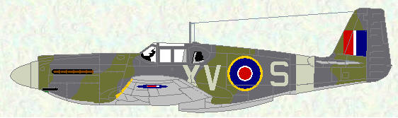 Mustang I of No 2 Squadron (US style grey)