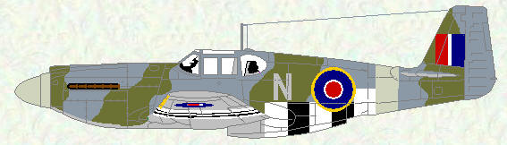 Mustang II of No 2 Squadron