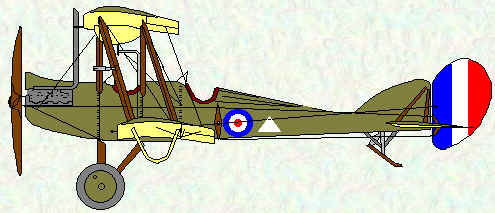 BE2d of No 2 Squadron