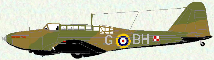 Battle I of No 300 Squadron