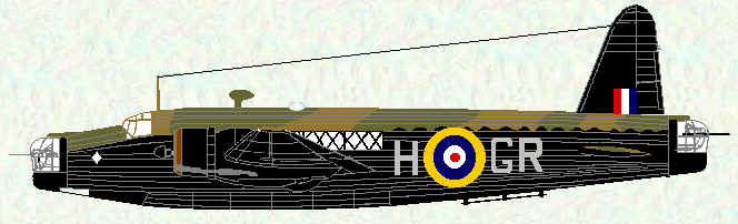 Wellington IC of No 301 Squadron