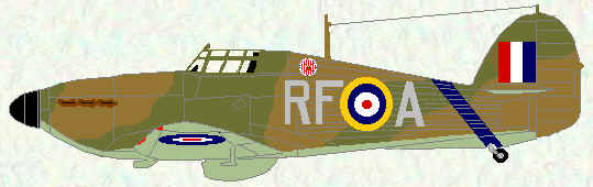 Hurricane I of No 303 Squadron (August 1940)