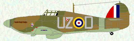 Hurricane I of No 306 Squadron (February 1941)