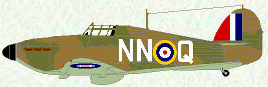 Hurricane I of No 310 Squadron (September 1940)