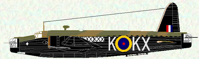 Wellington IC of No 311 Squadron