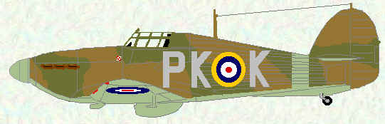 Hurricane I of No 315 Squadron (June 1941)