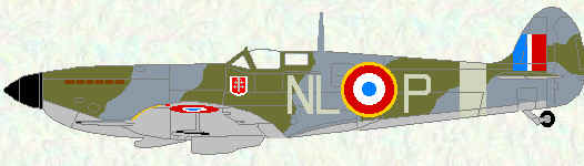 Sppitfire IX opf No 341 Squadron (Free French markings)