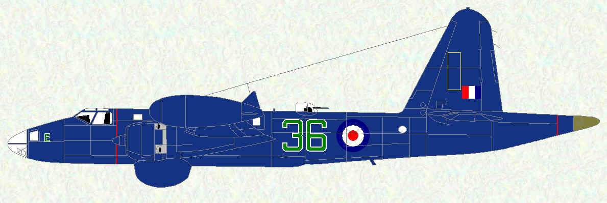 Neptune MR Mk 1 of No 36 Squadron
